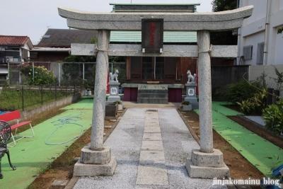 羽澤稲荷神社(練馬区羽沢)2