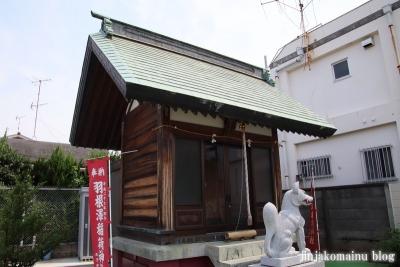 羽澤稲荷神社(練馬区羽沢)9