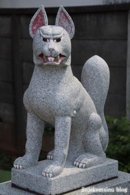 羽澤稲荷神社(練馬区羽沢)5