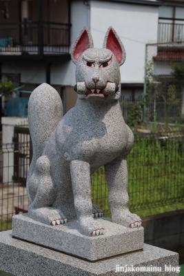 羽澤稲荷神社(練馬区羽沢)6