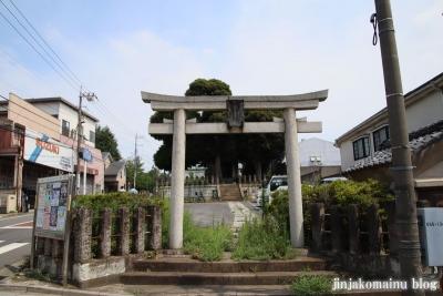 稲荷神社(板橋区小茂根)1