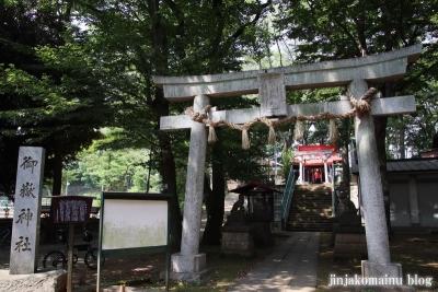 御嶽神社(板橋区桜川)1