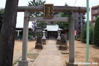 氷川台諏訪神社(練馬区氷川台)3