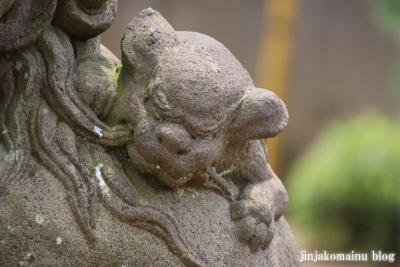 氷川台諏訪神社(練馬区氷川台)14