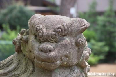 氷川台諏訪神社(練馬区氷川台)18