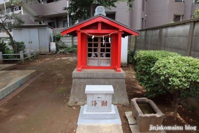 氷川台諏訪神社(練馬区氷川台)25