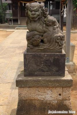 氷川台諏訪神社(練馬区氷川台)5