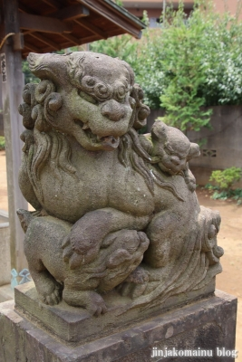 氷川台諏訪神社(練馬区氷川台)6