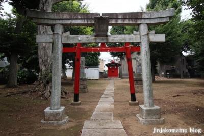 西本村稲荷神社(練馬区平和台)3