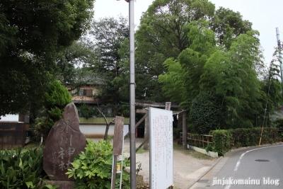 氷川神社(練馬区氷川台)1