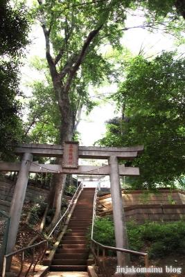 高稲荷神社(練馬区桜台)1