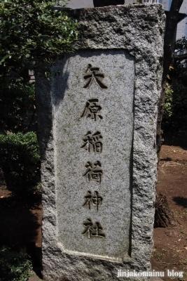 矢原稲荷神社(練馬区中村北)2