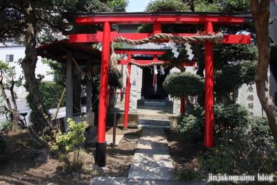 矢原稲荷神社(練馬区中村北)1