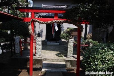 矢原稲荷神社(練馬区中村北)4