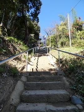 6山上碑 階段