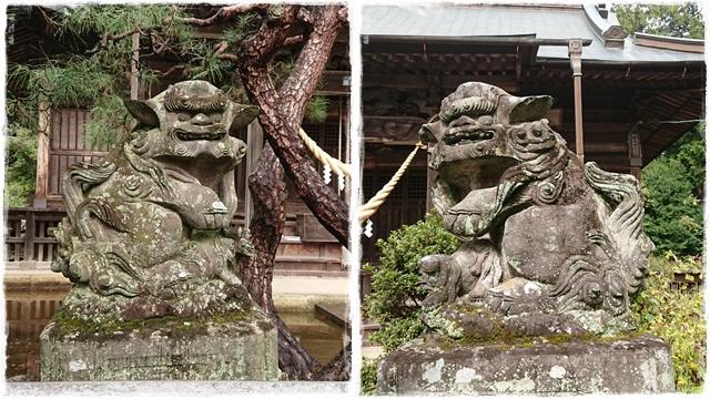 大宮神社・狛犬