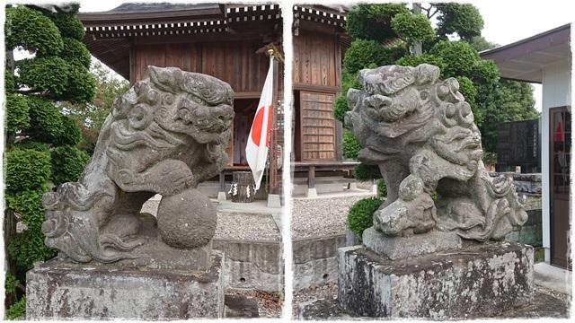 三箇神社・狛犬