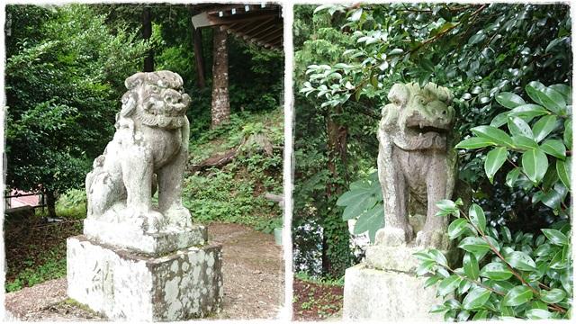 高お神社・狛犬