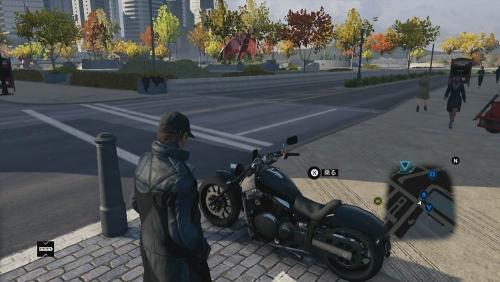 バイクのお話:ウォッチドッグス