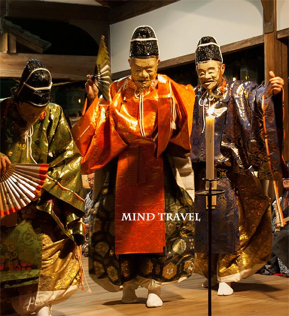 奈良豆比古神社 翁舞