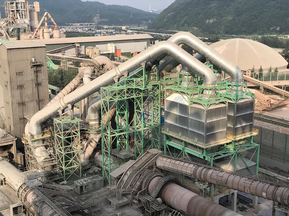 20181015川重セメント排熱発電設備