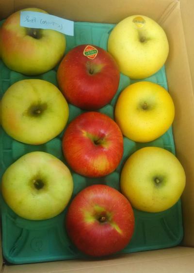 リンゴ3種(2018。10.27)