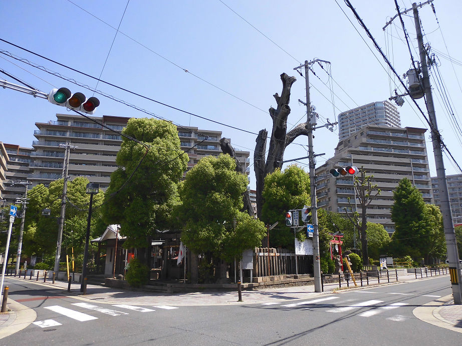 櫻宮(桜宮神社)御旅所 -大阪市都島区善源寺町- すてまわり