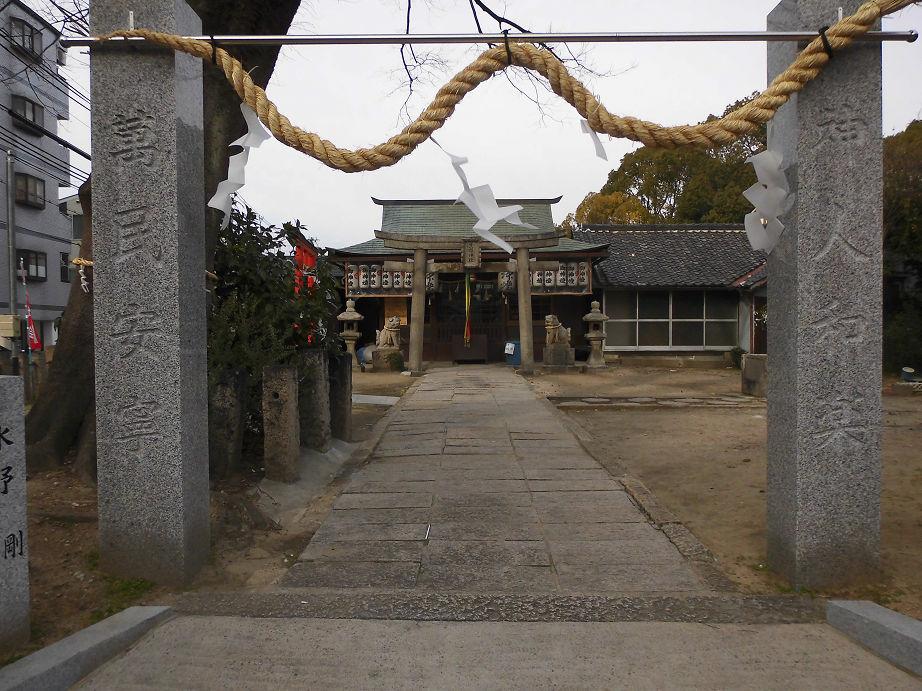生野神社 -大阪市生野区舎利寺- すてまわり