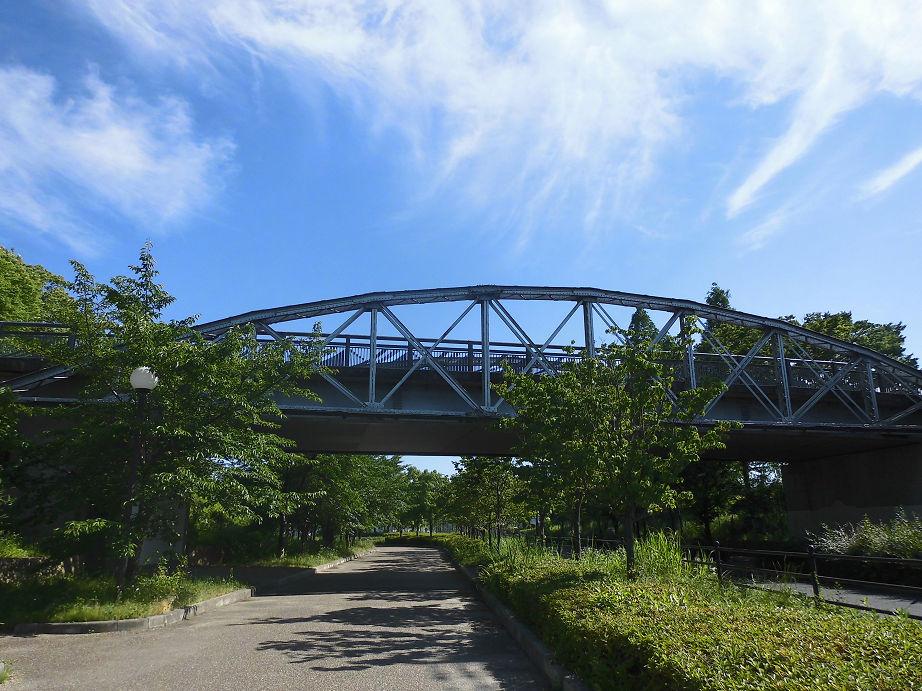 緑地西橋(心斎橋の桁) -大阪市鶴見区緑- すてまわり