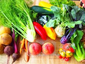 カラフルな野菜