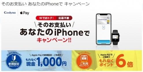 Apple Pay×セディナカード