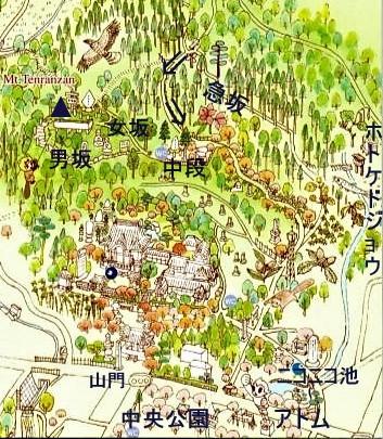 天覧山地図11