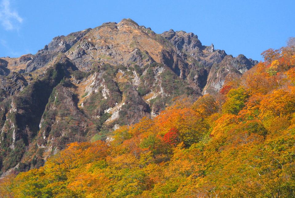 5234 マチガ沢出合からの谷川岳 960×645
