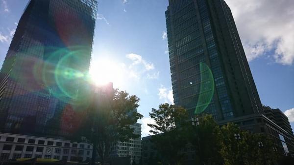 東京駅ビル群