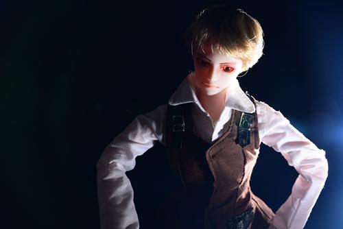 PARABOX、27cmスリム、弥勒ヘッド、メイクカスタム、京極夏彦の小説「百鬼夜行シリーズ」の榎木津礼二郎