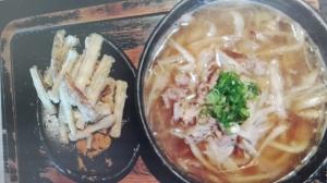 山元麺蔵ごぼう天ぷら1