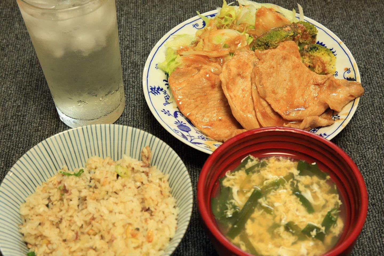 ブログ サンマ炊き込みご飯 味噌ニンニク焼き.jpg