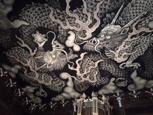 竜の天井画