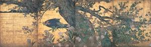 長谷川等伯の楓図