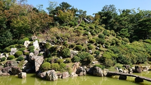 利休好みの庭園