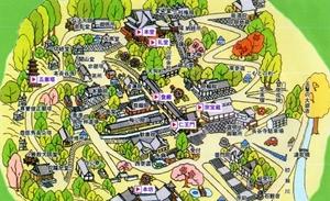 長谷寺境内図