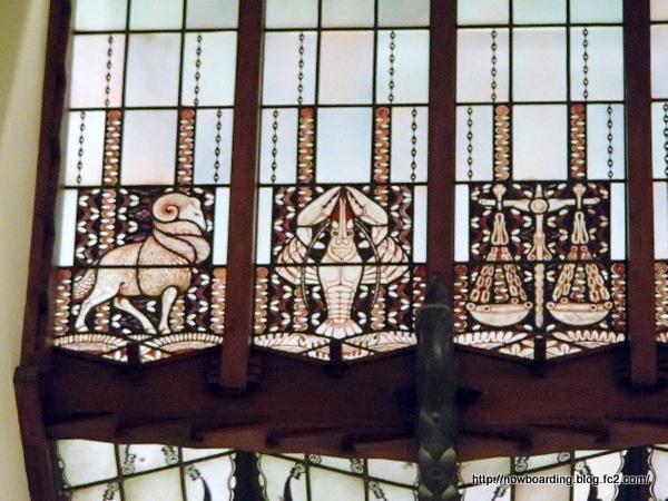 グランド ホテル アマラス アムステルダムステンドグラス