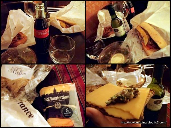 アムステルダム 夕食