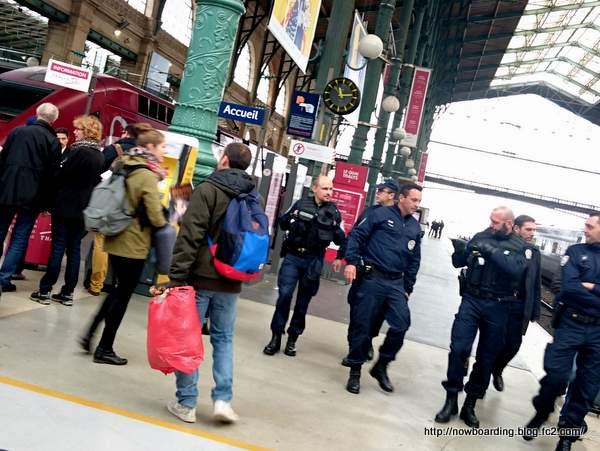 パリ同時多発テロ パリ北駅