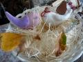 ナンフェア ハンドメイドの小鳥ブローチ