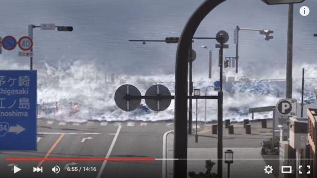 【大地震】神奈川県鎌倉市が実際の街並みに「大津波」が起きた場合のシミュレーション動画を公開…濁流が市街地を飲み込む姿がとてもリアルで怖すぎる...