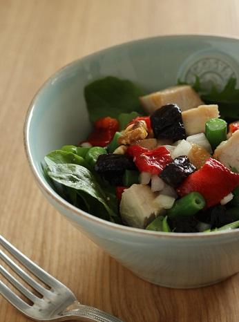 プルーンと鶏肉のサラダ2