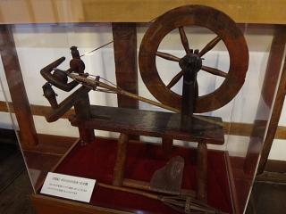 18世紀ポルトガルの毛糸つむぎ機