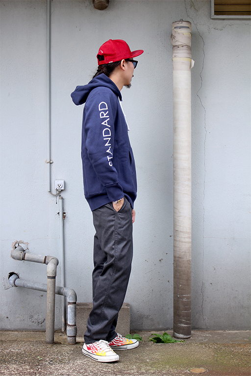 standard california Champion × SD Reverse Weave Half Zip Hood3