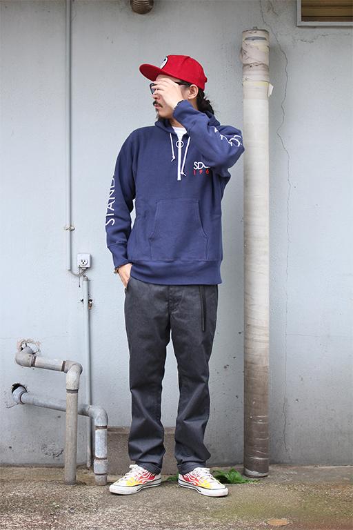 standard california Champion × SD Reverse Weave Half Zip Hood4